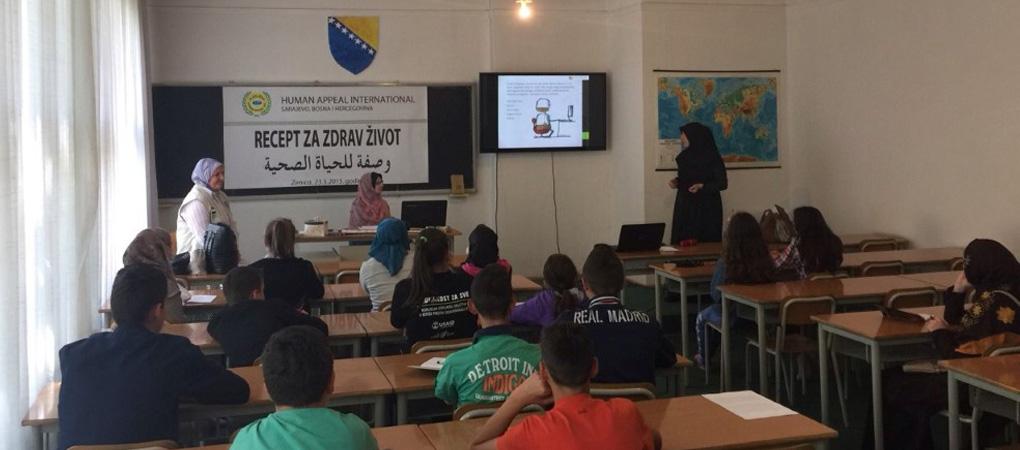 """Održan seminar u Zenici """"Recept za zdrav život"""""""