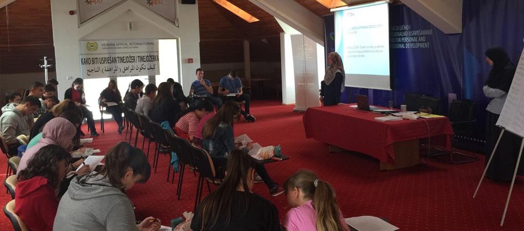 """Seminar """"Kako biti uspješan tinejdžer/tinejdžerka"""" u Sarajevu"""