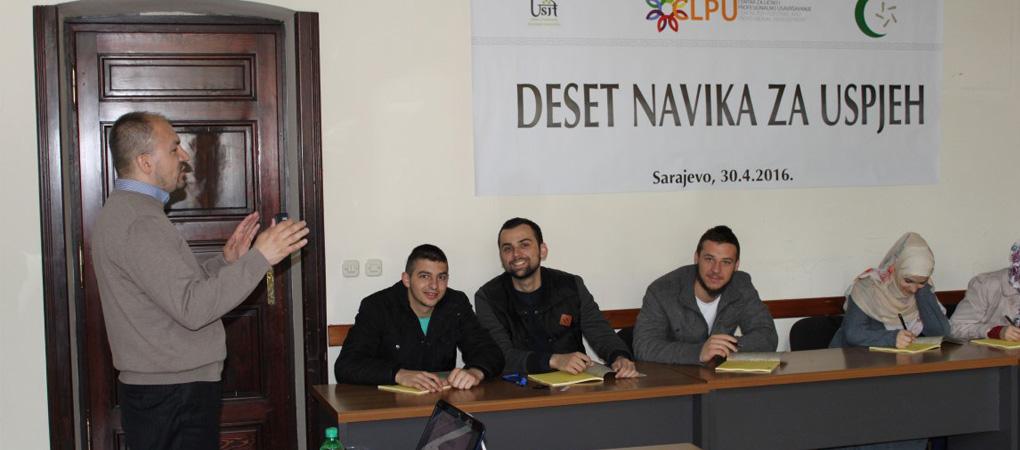 CLPU održao seminare za učesnike edukativno-sportskih susreta USIF-a