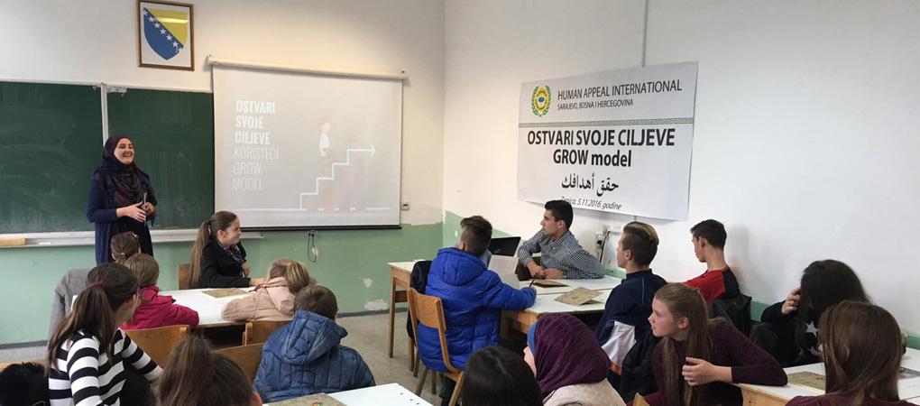 """U Zenici održan seminar za tinejdžere """"Ostvari svoje ciljeve koristeći Grow model"""""""
