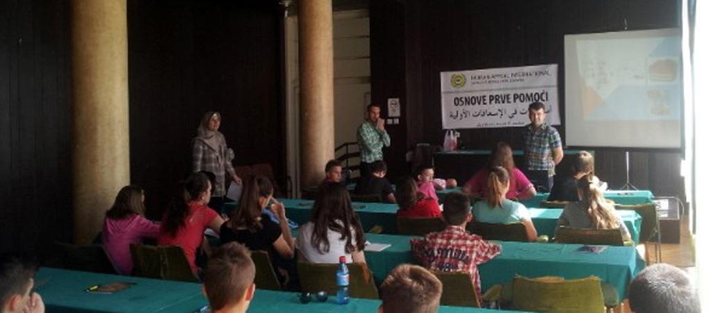 Seminar Osnove prve pomoći u Zavidovićima