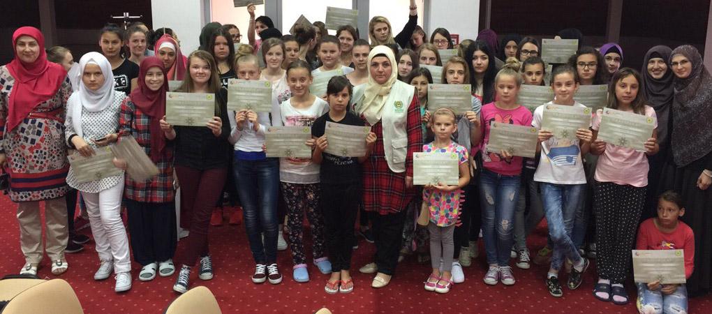 Ljetna škola Human Appeal International-a 2016 za tinejdžerke