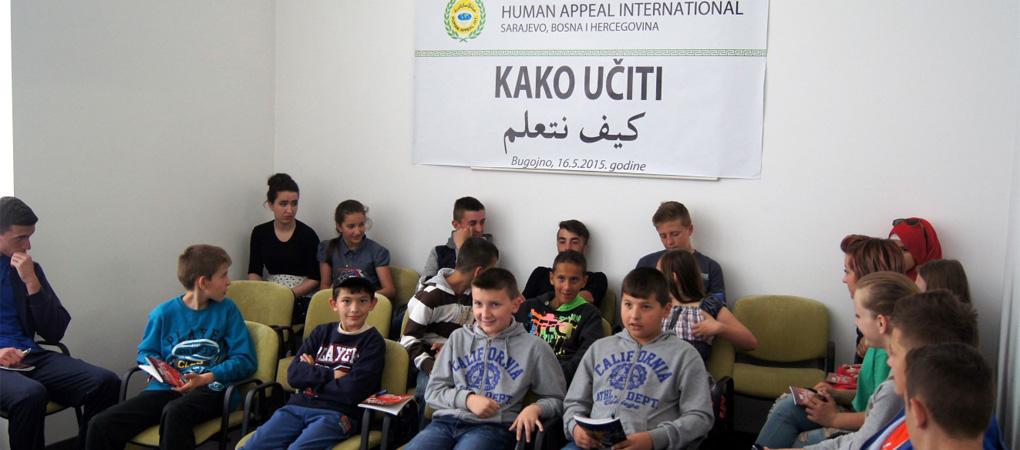 "U Bugojnu održan trening seminar ""Kako učiti"""
