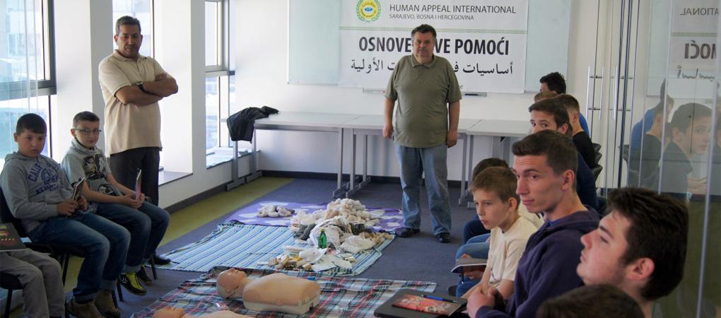 Edukativni seminar za jetime Human Appeal International u Bugojnu