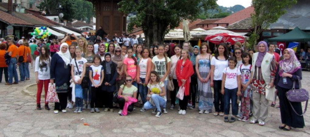 Ljetna škola Human Appeal International-a 2015 za tinejdžerke