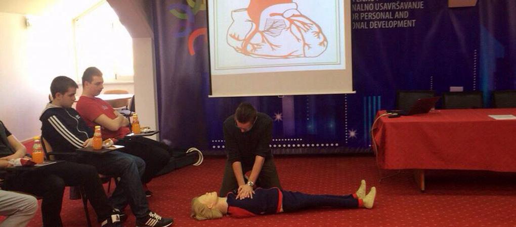 Seminar o prvoj pomoći u Sarajevu