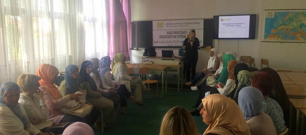 """Seminar """"Kako prepoznati i odgovoriti na potrebe djece i mladih"""" u Zenici"""