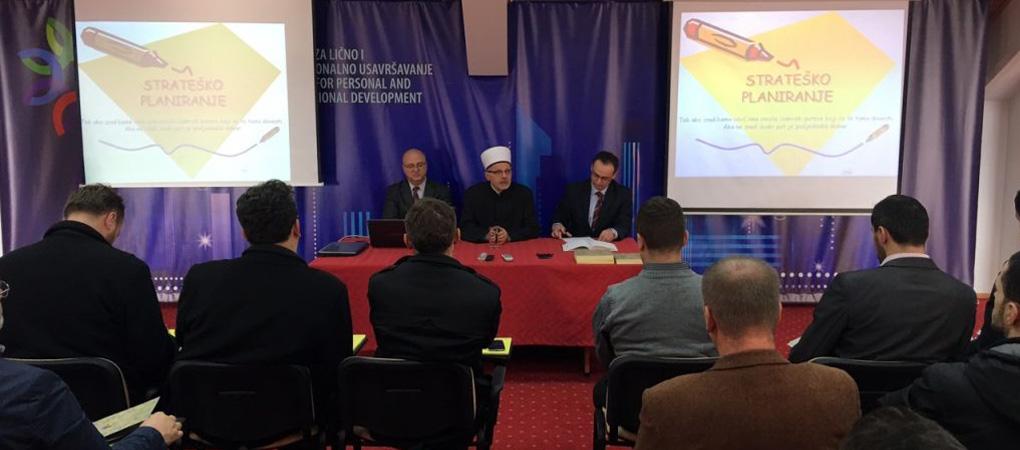 Seminar o strateškom planiranju za koordinatore Muftijstva sarajevskog